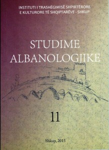 Studime alb. kopertina 11