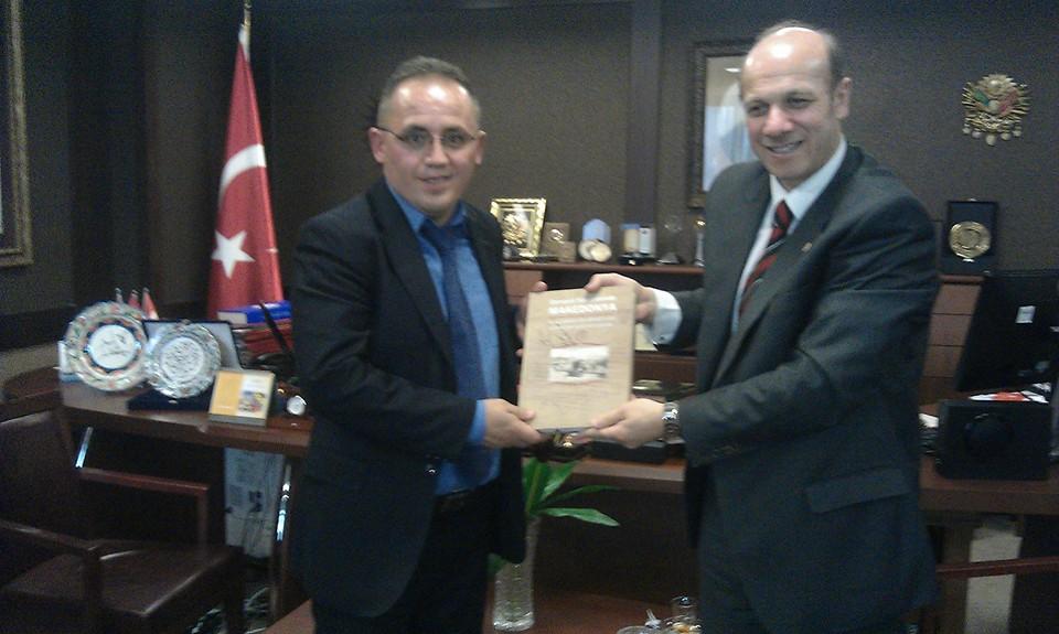 Takimi ne Arkivin e Stambollit